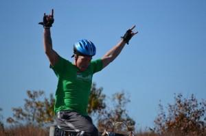 Matt at theTrick-or-Triathlon