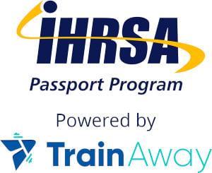 IHRSAPP logo blue