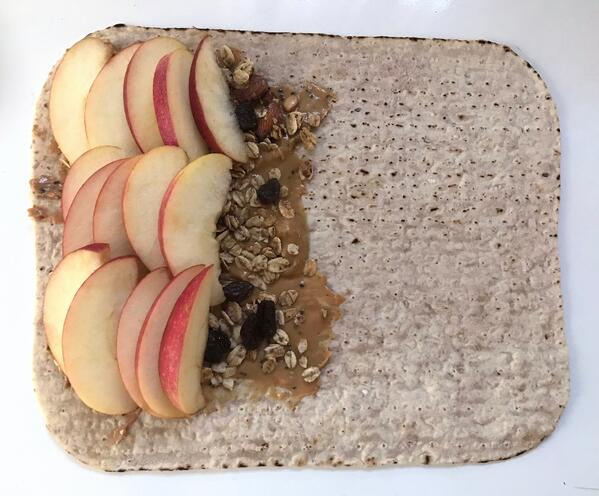 Apple Breakfast Wrap